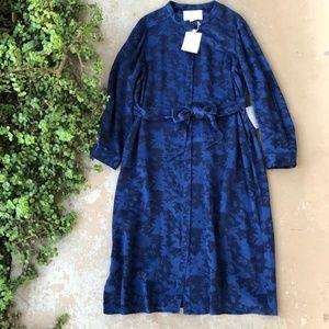 Gal Meets Glam Frances Empress Damask Shirt Dress